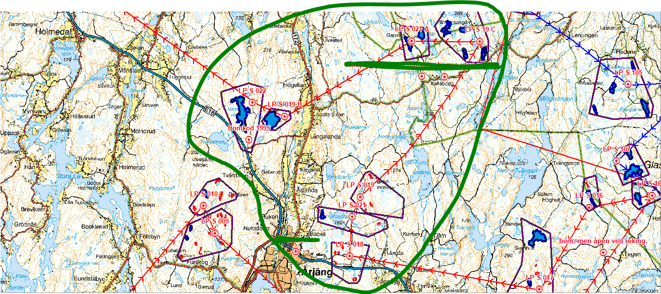 årjängs kommun karta